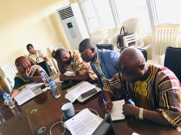 Liberia's Ministry of Health engages in a two-day workshop to kick off a national costing exerscise