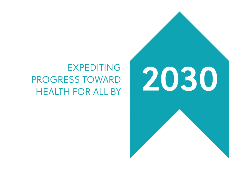 Expediting progress toward health for all by 2030